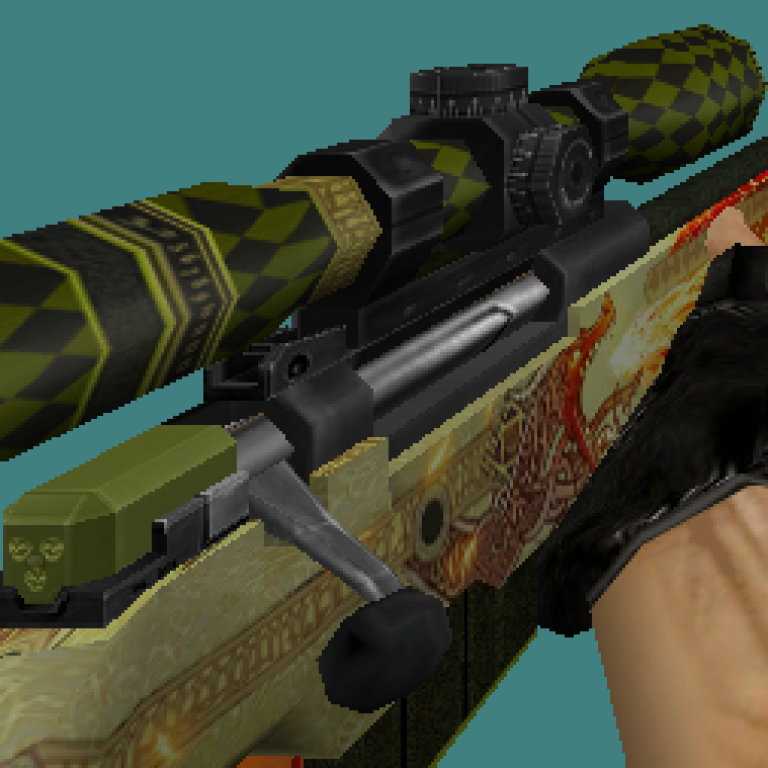 CS 1.6 Dragon Lore default skins pack