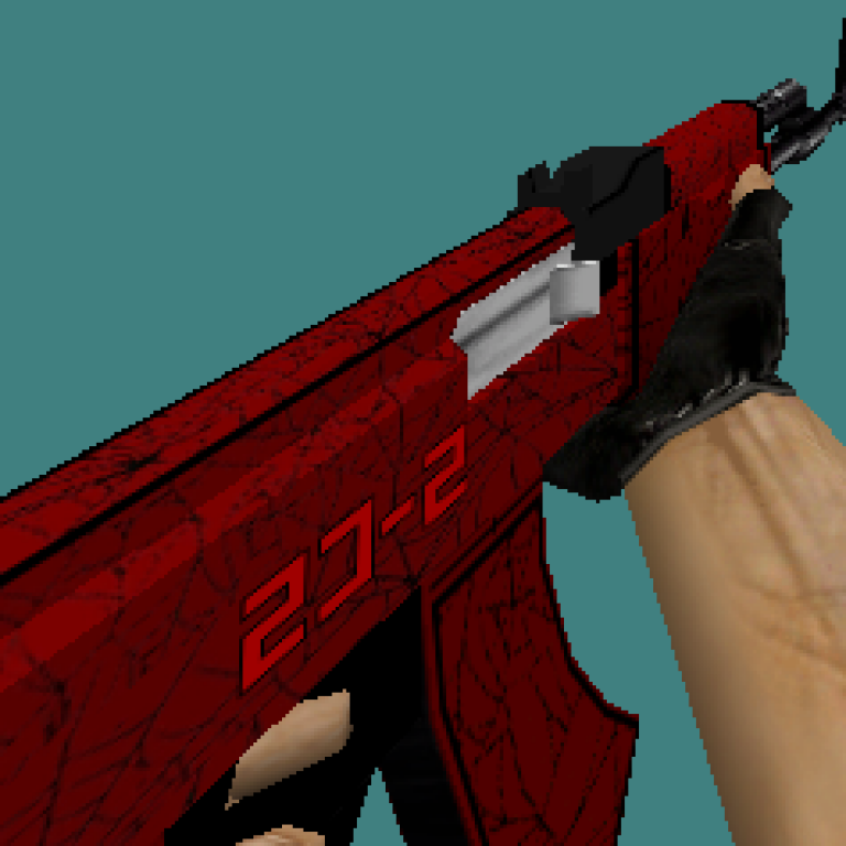 CS 1.6 Crimson skin pack (knife, deagle, ak47, m4a1, awp)