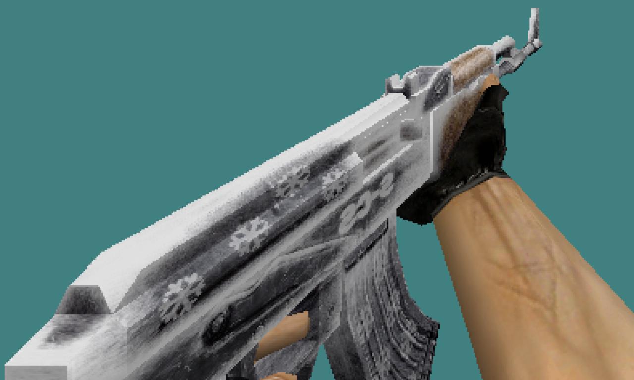 Counter Strike 1.6 skins pack Frosty set