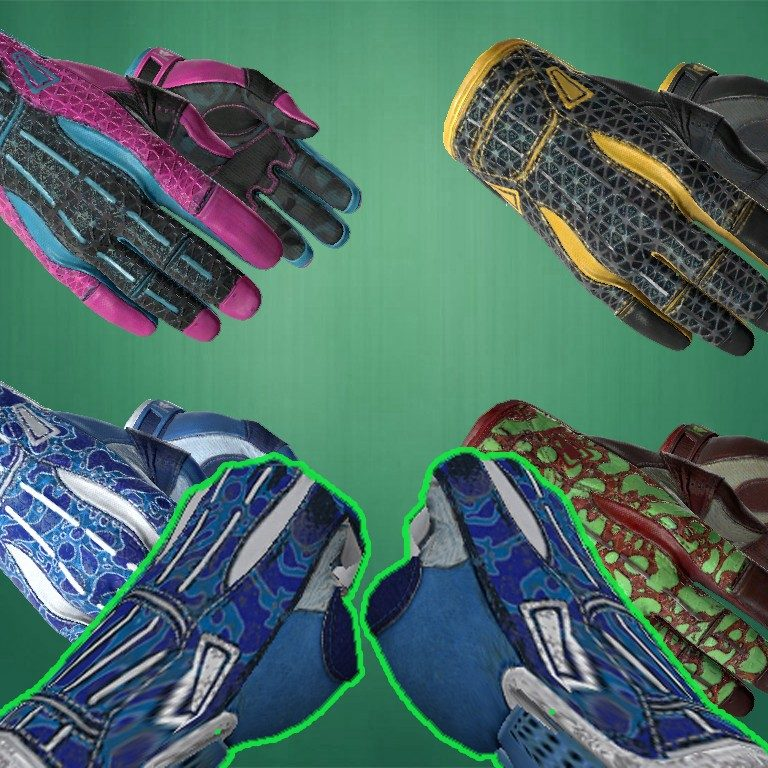 Counter Strike 1.6 hands skins pack by csgo Ports [cs 1.6 gloves]