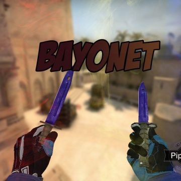 Counter Strike 1.6 CSGO Bayonet HD knife pack for CS 1.6