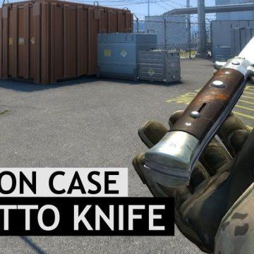 Counter Strike 1.6 CSGO Stiletto knife pack for CS 1.6