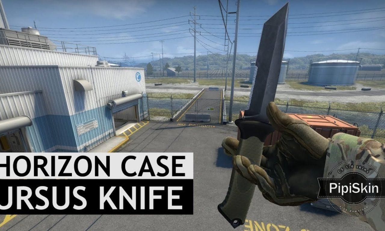 Counter Strike 1.6 CSGO Ursus knife for CS 1.6