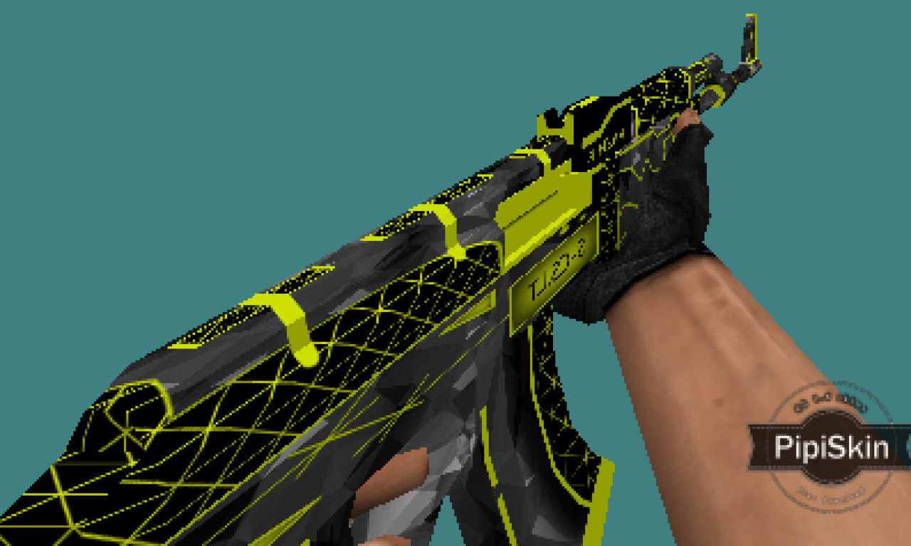 Counter Strike 1.6 weapons skins Triangle sets by RAZNiK