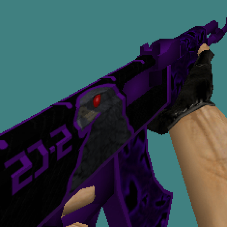 CS 1.6 weapons skins pack Violet Hawk set by Brothers