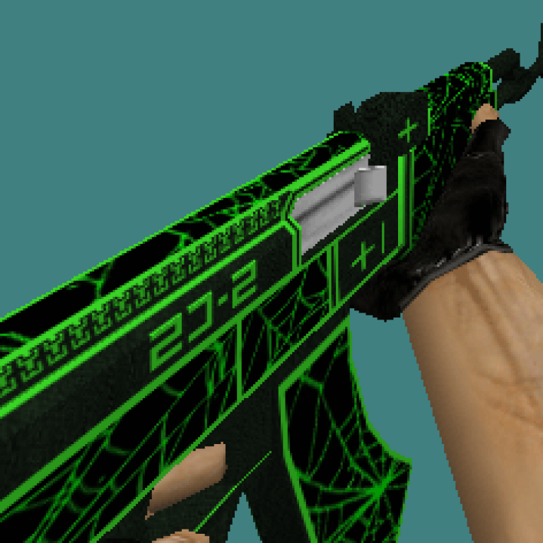 CS 1.6 skins weapons Emerald Web set by Brothers