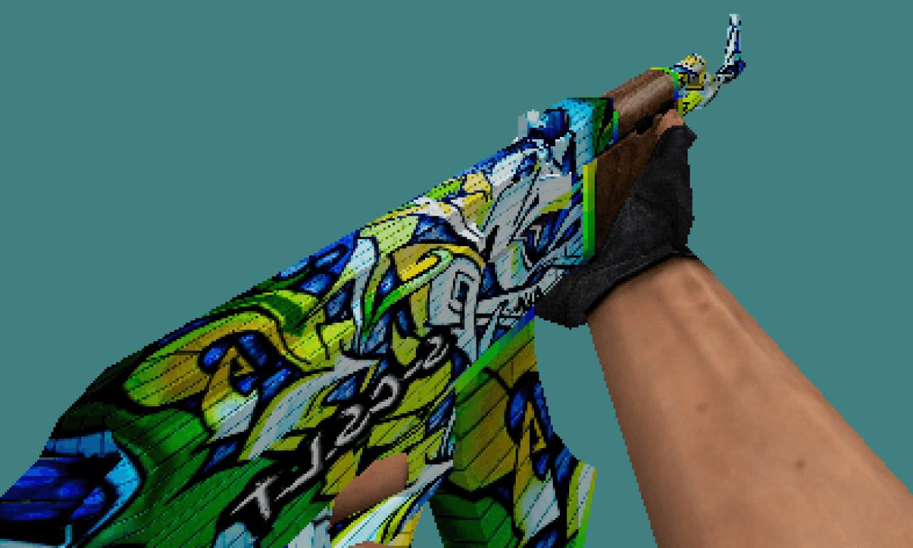 CS 1.6 Graffiti skins sets by RAZNiK