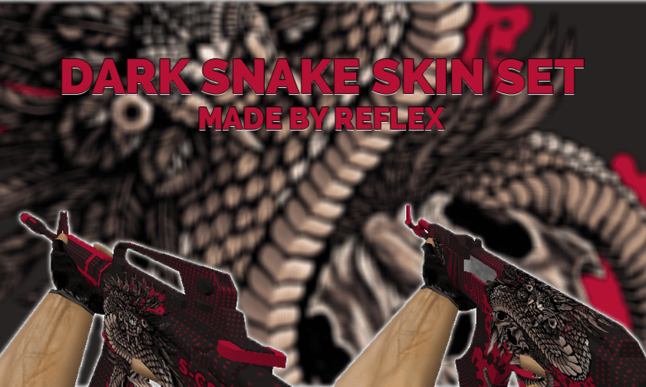 Dark Snake De Skins Para CS 1.6