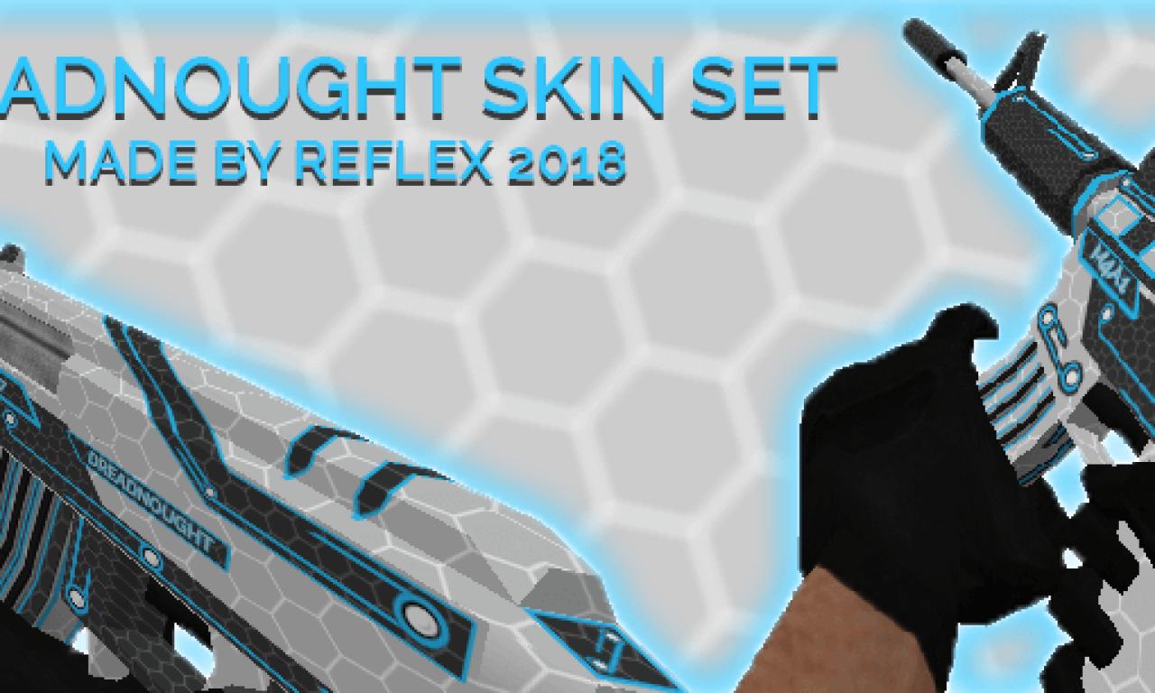 Pack de Armas para CS 1.6 Skins del Dreadnought